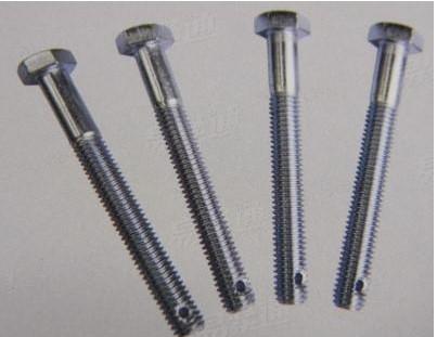六角头螺杆带孔螺栓